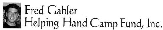 Fred Gabler Helping Hands Camp Fund